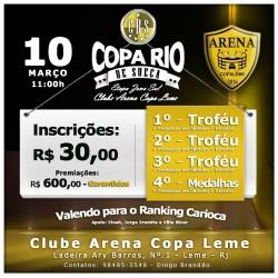 Flyer Copa Rio Zona Sul